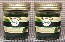 2 Febreze JOLLY PINE Candle Elements Odors & Freshens 5 oz