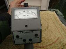 Vintage Survey Meter Model 740-F Victoreen Instrument Missing Front Chamber So