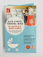 NEW J.L. Childress Gate Check Travel Bag for Standard/Double Strollers, Red
