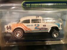 HOT WHEELS*´55 CHEVY BEL AIR GASSER*DIECAST CONVENTION # 4/10! Free Ship Ins!😎