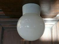 Original Bauhaus Stil Lampe Plafonier  Deckenlampe Bauhausstil ca. 1935