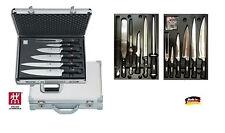 Zwilling: 35025-000  set- valigia coltelli da cuoco/chef forgiati 12pz.-