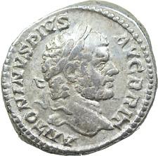 Lot 406: Caracalla AD 198-217. Rome Denarius AR,a