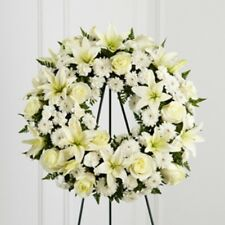Sympathy  Treasured Tribute™ Wreath Delivered by Florist