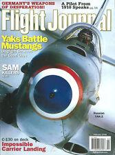 FLIGHT JOURNAL FEB 08 KC-130F CV-59_WW2 YAK-3_VIETNAM F-100F MISTY_MS.406_A6M3