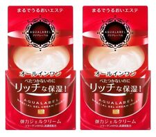 2 pcs SHISEIDO AQUALABEL Special Gel Cream Moist All in One 90g from Japan