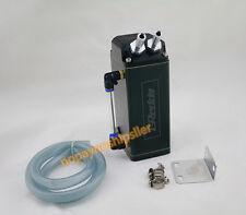 D1 TURBO ALUMINUM ENGINE OIL/ COOLANT OVERFLOW CATCH RESERVOIR BREATHER TANK/CAN