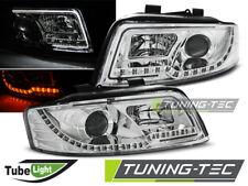 Fanali per Audi a4 10.00-10.04 Led Light Bar CROMO