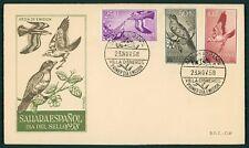 SAHARA FDC 1958 FAUNA VÖGEL BIRDS OISEAUX cl33