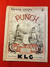Vintage : PUNCH Magazine : 22nd January 1936