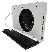 XBox One S Base Holder Mount, Vertical Stand Base Holder Mount +Cooler + USB HUB