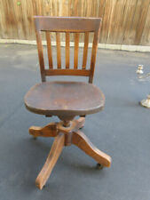 Office Chair Antique Chairs 1900 1950 For Sale Ebay