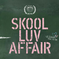 BTS KPOP BANGTAN BOYS 2nd Mini Album [SKOOL LUV AFFAIR] CD+Photobook+Photocard