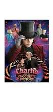 CHARLIE AND CHOCOLATE FACTORY MOVIE POSTER ~ COLLAGE 22x34 Johnny Depp Burton