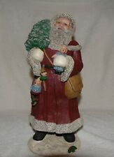 "Miss Martha Originals Father Christmas 1989 White Santa Le 102/2500 13"" Rare"