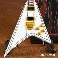 Randy Rhoads Signature White Flying V Miniature Guitar Replica Collectible