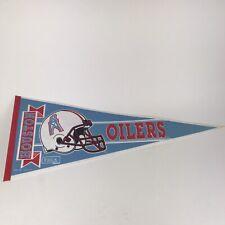 """Houston Oilers Football Team NFL 30"""" Pennant"""