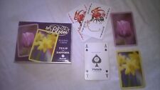 MODERN DOUBLE BOXED DECK TULIPS & DAFFODIL IN BLOOM BY PIATNIK