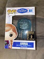Funko Pop! Frozen Frozen Anna Vinyl Figure 2014 Rare Exclusive! Limited Edition