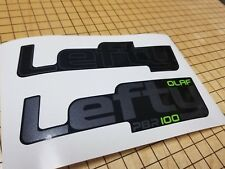 Sticker Decal Set for CAAD Fat Lefty PBR 100 OLAF Fork