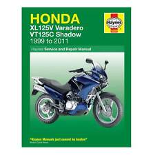 Haynes Workshop Manual / Guide Book For Honda XL125 Varadero / VT125 Shadow