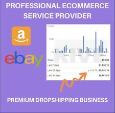 DROPSHIPPING BUSINESS PARTNER FOR 12 MONTHS TO MAKE YOU £1,500+ EACH MONTH