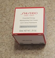 Shiseido Essential Energy Moisturizing Gel Cream - .35 oz/10 ml - Nib