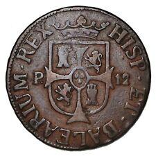 SPAGNA MAJORCA Ferdinando VII - 12 Dineros 1812