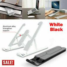 Ajustable Soporte De Escritorio Soporte portátil aluminio tarjeta vertical para MacBook Portátil Tablet ~