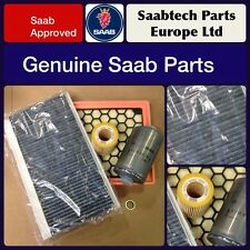 GENUINE SAAB 9-3 1.9 TiD ENGINE SERVICE KIT 06-2011 FILTERS - OIL,AIR,FUEL,CABIN