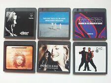 6x Collectible Minidisc MD Album.90's. The Chemical Brothers, Oasis, Kaas, Hill,