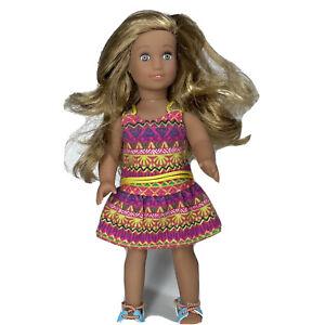 """American Girl Doll 6"""" Lea Mini Girl Of The Year"""