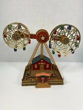 Mr Christmas Double Ferris Wheel with Adapter 2004 Works