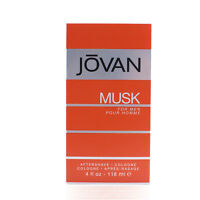 NEW Jovan Musk Cologne for Men 4.0 oz After Shave Cologne NIB