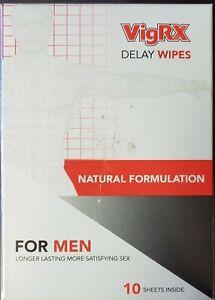 VigRX Delay Wipes All-Natural Last Longer Male Enhancement Desensitizer