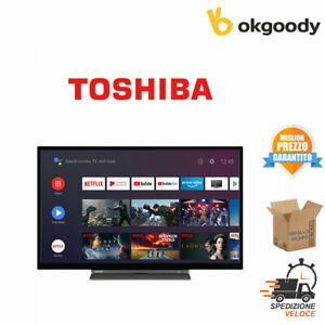 Smart ANDROID TV 32 Pollici HD Ready Televisore LED Toshiba Wifi LAN 32WA3B63DG
