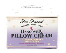 Too Faced ~Hangover Pillow Cream ~ NIB ~ FREE SHIP~NEW ~SEALED & FRESH ~BOXED