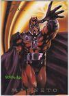 1994 FLAIR MARVEL UNIVERSE POWER BLAST: MAGNETO #4 OF 18 FOIL CHASE INSERT CARD