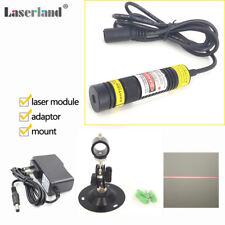 1668 Focusable 650nm 100mW Red Laser Line Module Locator Line Generator