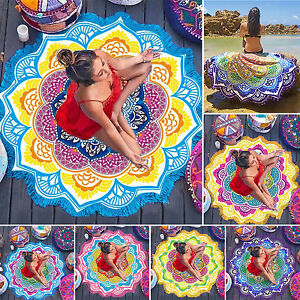 Mandala Tapestry Wall Hanging Hippie Indian Bedspread Bohemian Yoga Throw Mat