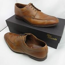 ALLEN EDMONDS · CHARLESTON | LIGHTBROWN DERBY DRESS SHOES 3920 | MENS SIZE 11 D
