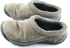 Merrell Encore Nova Crystal Stone Clog Size 5.5 Soft Suede Womens Leather shoe