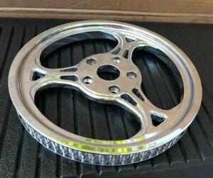 """Arlen Ness Chrome Aluminum Rear 70 Tooth 1 1/8"""" Belt Drive Sprocket 16-758"""