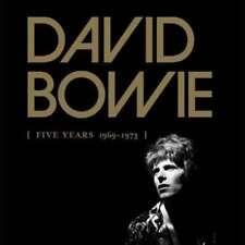 CD de musique rock coffret David Bowie
