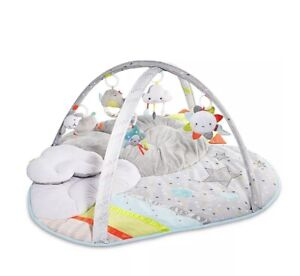 Skip Hop Silver Lining Cloud Baby Activity Gym Tummy Time Mat EUC