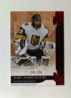 2019-20 UD Artifacts Ruby Stars #107 Marc-Andre Fleury /399