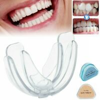 Dental Silicone Orthodontic Transparent Teeth Corrector Retainer Tool w/Case US