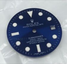 Aftermarket Replacement BLUE Dial for Rolex Submariner 116610 Fit 2824 2836 2813