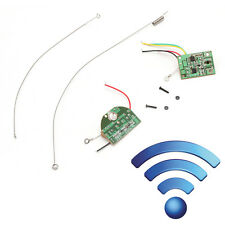 2CH Remote Control 27MHZ Radio Channel Module Transmitter Receiver Board Antenna