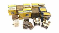 Lot of 17 Square D Miscellaneous Switches, Buttons, Plates, Blocks, See Pictures
